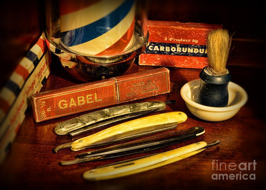 Barber - Vintage Barber Photograph - Barber - Vintage Barber by Paul Ward