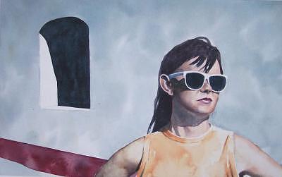 Barbi At La Pursima Painting by Philip Fleischer