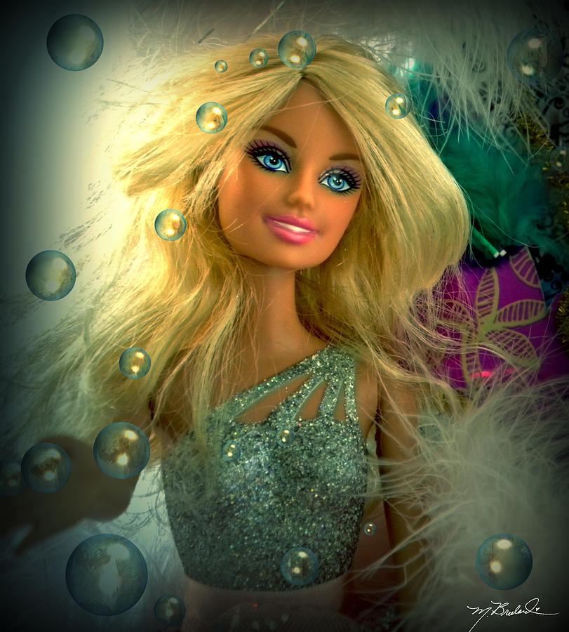 Barbie Photograph - Barbie Bubbles In Hdr by Melissa Wyatt