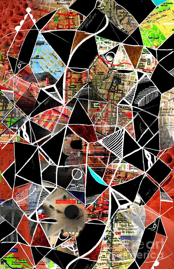 Barcelona Digital Art - Barcelona  by Andy  Mercer