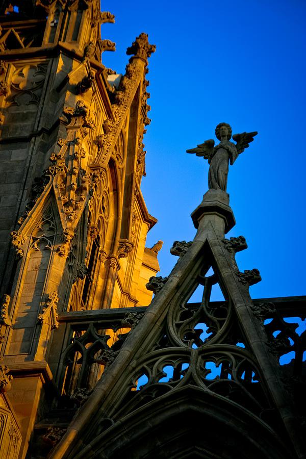 Barcelona Photograph - Barcelona Cathedral by Jonathan Hansen