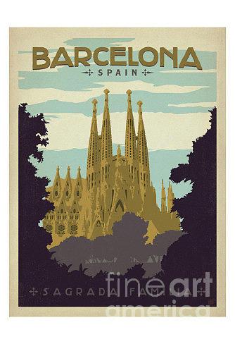 Barcelona-spain Painting
