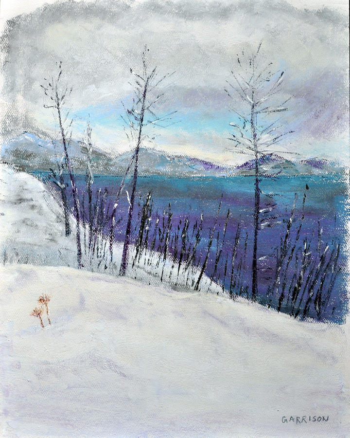 Landscapes Painting - Bare by Marina Garrison