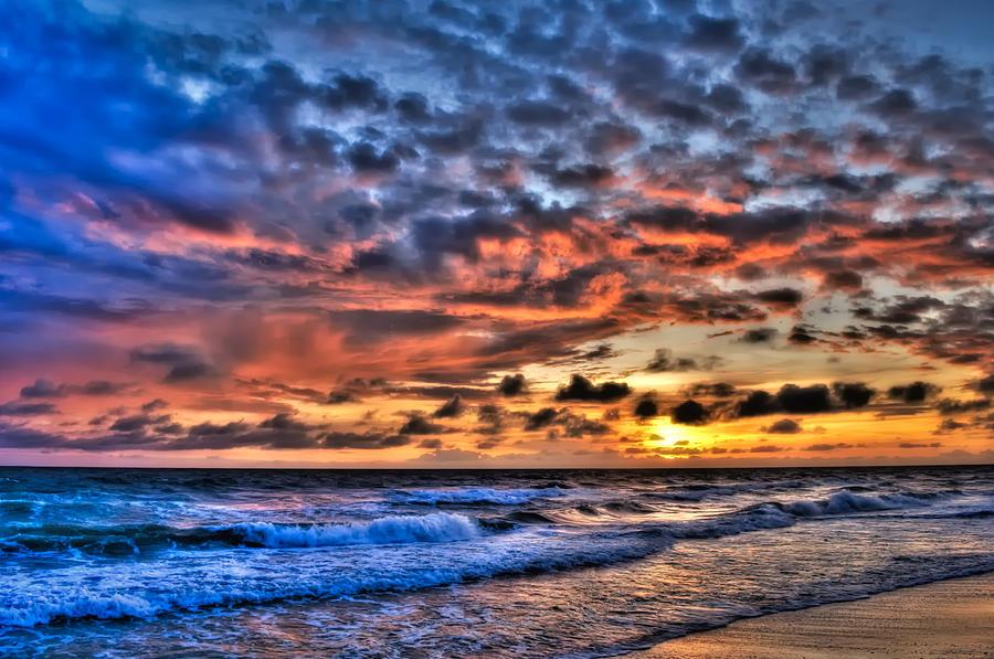 Sunset Photograph - Barefoot Beach Sunset by Rich Leighton