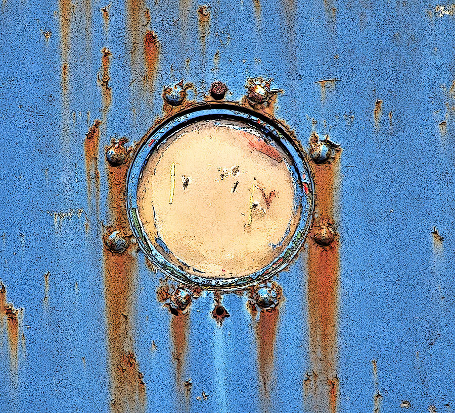 Barge Photograph - Barge Porthole by Brainwave Pictures
