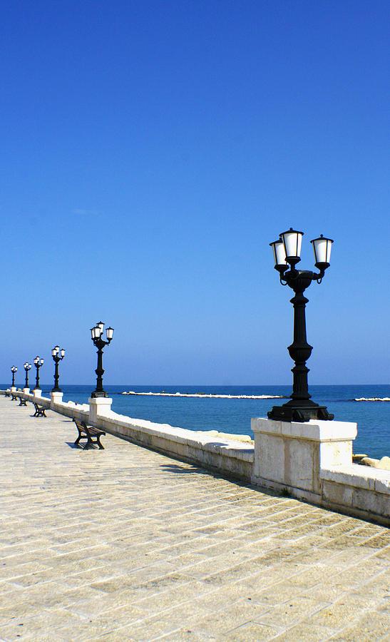Bari Photograph - Bari Waterfront by Rob Tullis