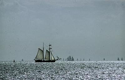 Seascape Photograph - Barkantine by PJ Steinmeijer