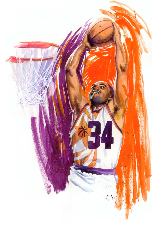 Charles Barkley Painting - Barkley by Ken Meyer jr