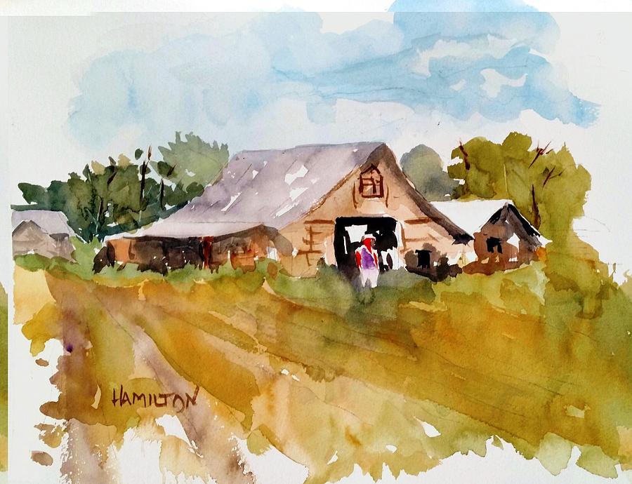 Barn # 2 by Larry Hamilton