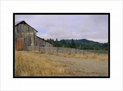 Barns Photograph - Barn By The Coast by Beth Anderson