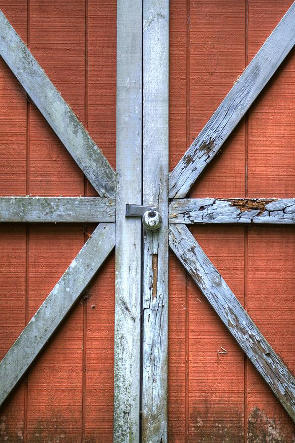 Barn Door 2 Photograph by Dustin K Ryan