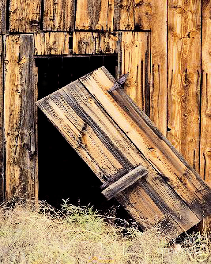 Exceptional Barn Door Photograph   Barn Door Broken Hinges By Merton Allen