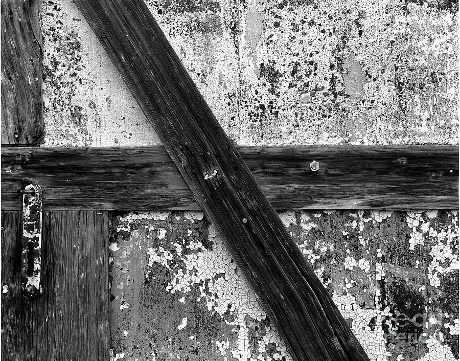 Signed Photograph - Barn Door by Christian Slanec