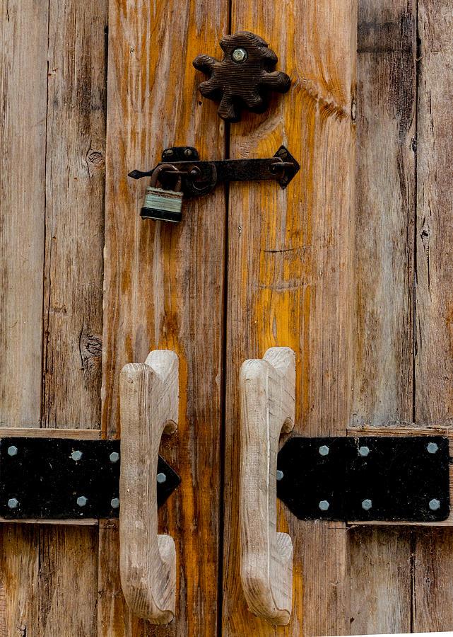 Barn Door Close-up Photograph by Richard Goldman