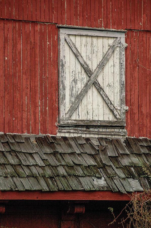 Barn Door Photograph by Steven Riker