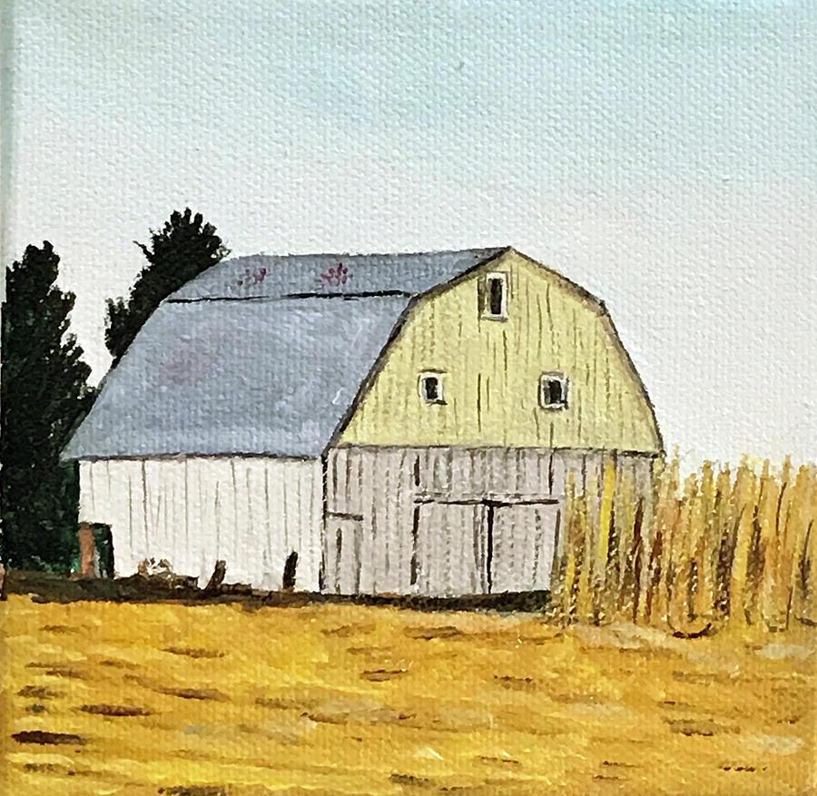 Barn in Corn by Kevin Callahan
