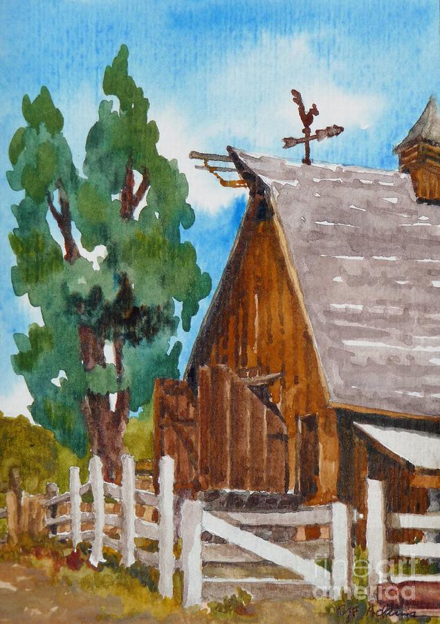 Barn - Littleton Historical Museum by CHERYL EMERSON ADAMS