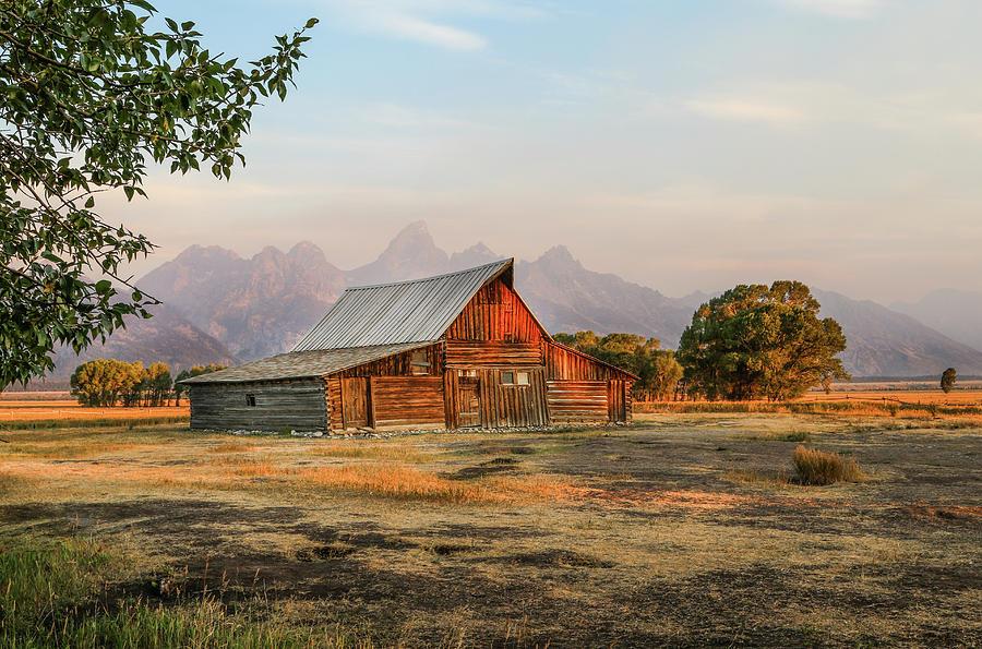 Jackson Photograph - Barn On Morman Row by EG Kight