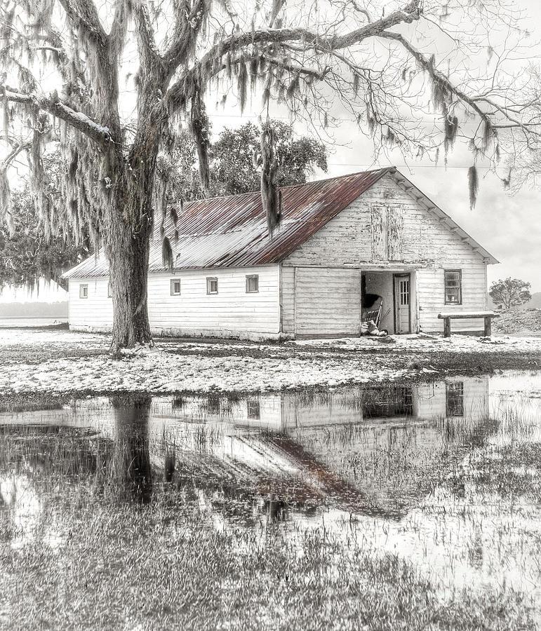 Landscape Photograph - Barn Reflection by Scott Hansen