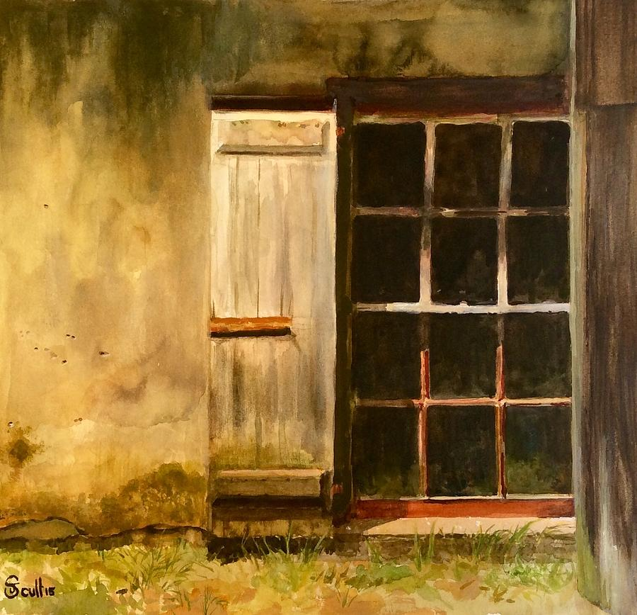 Barn Window by Judith Scull