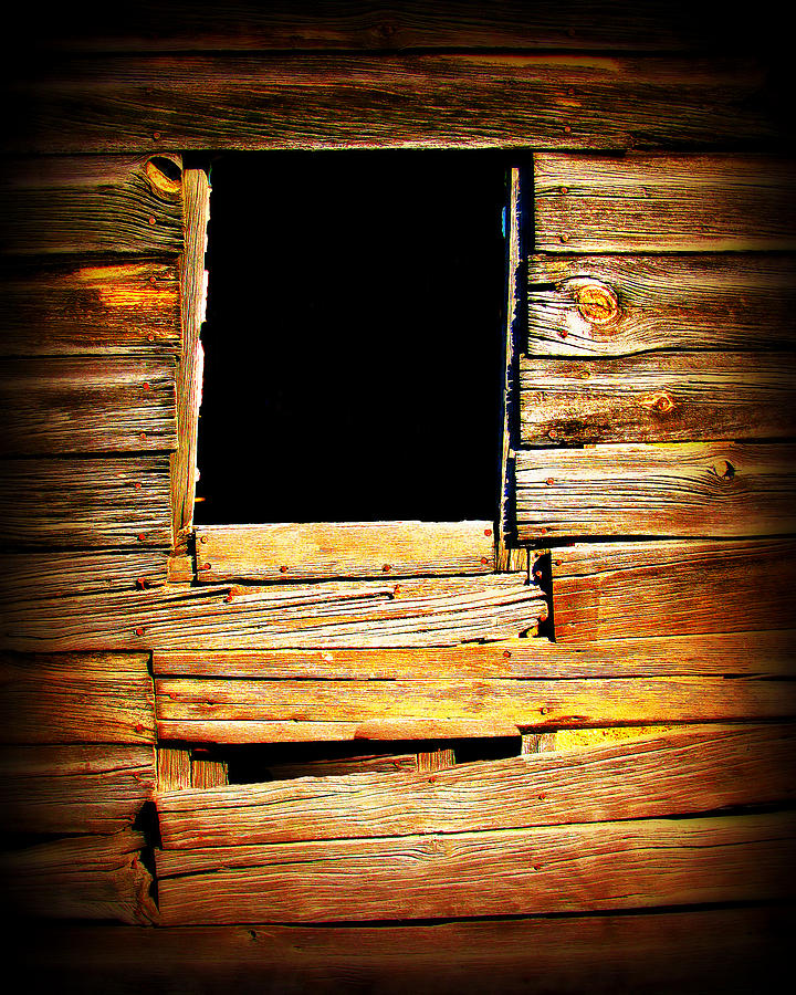 Barn Photograph - Barn Window by Perry Webster