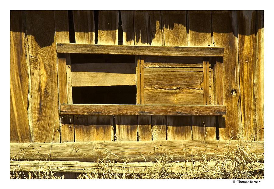 Barn Window Photograph by R Thomas Berner