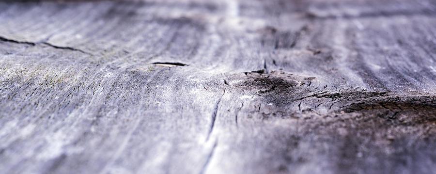 Abstract Photograph - Barn Wood Abstract by Kurt Shaffer