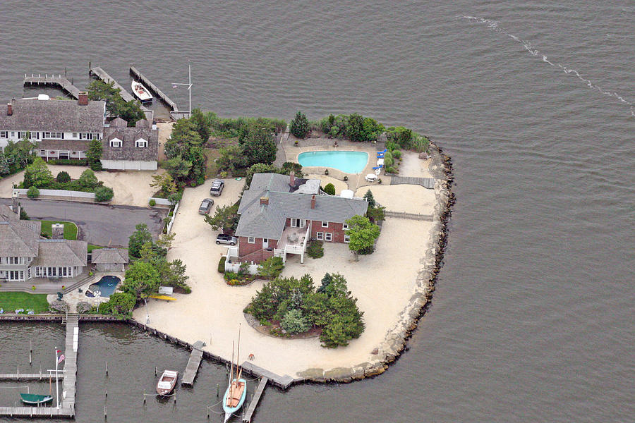 Bay Head Yacht Club Photograph - Barnegat Bay House Mantoloking New Jersey by Duncan Pearson