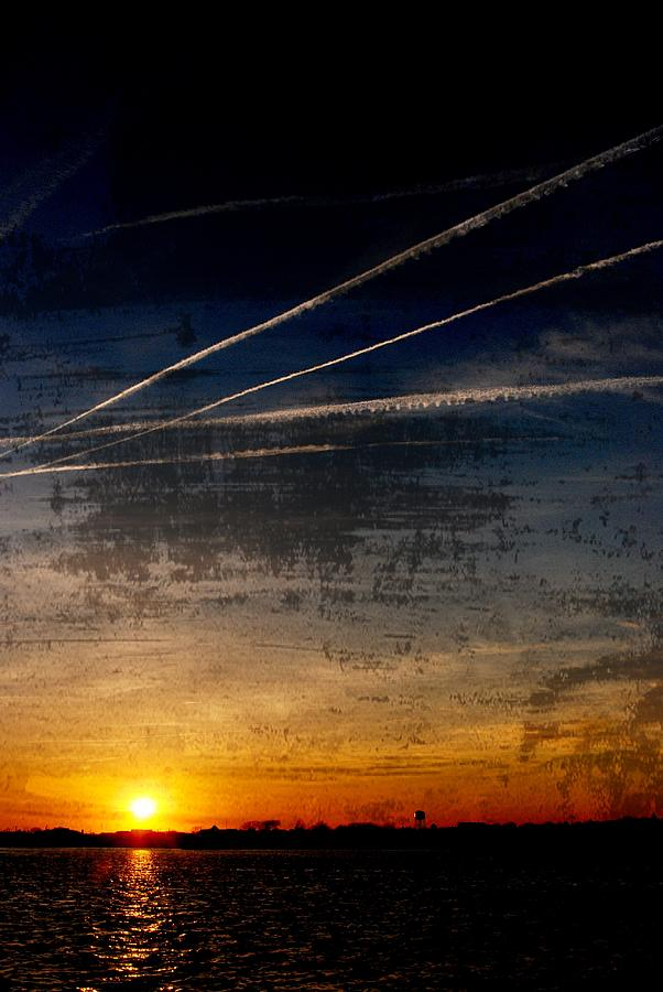 Jersey Shore Photograph - Barnegat Bay Sunset - Jersey Shore by Angie Tirado