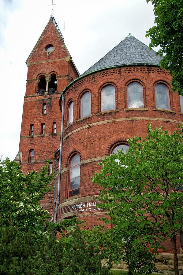 Cornell University Photograph - Barnes Hall Cornell University Ithaca New York 02 by Thomas Woolworth