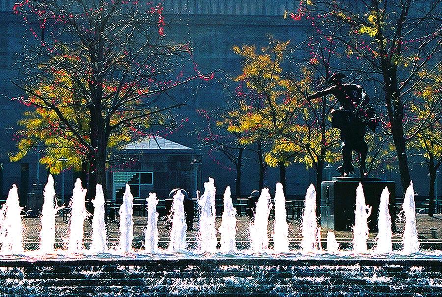 Landscape Photograph - Barney Allis Plaza-kansas City by Steve Karol