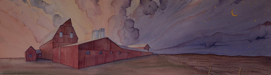 Barns and Silos by Scott Kirby