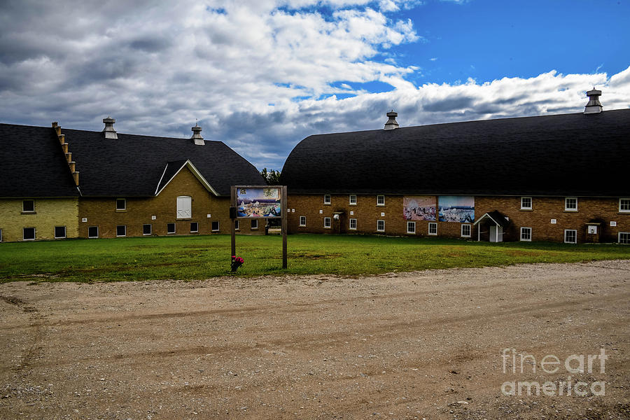 Barns at Traverse City Commons by Grace Grogan
