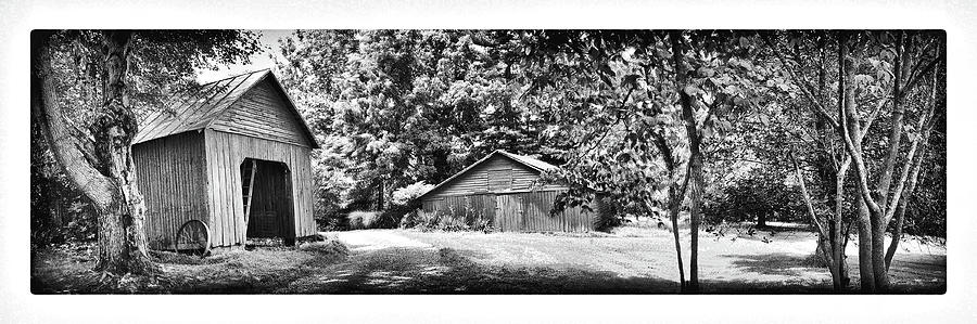 Barns Digital Art by Iris Posner