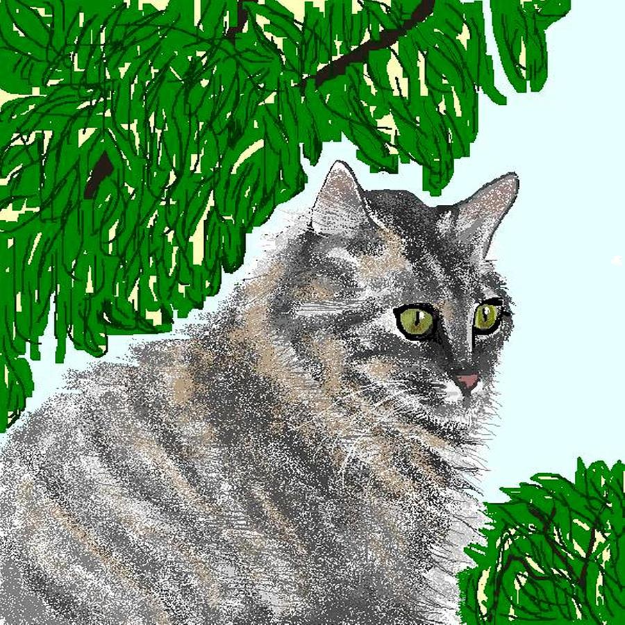 Cat Digital Art - Barnstable by Carole Boyd