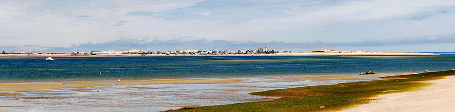 Barnstable Photograph - Barnstable Harbor Panorama by Charles Harden