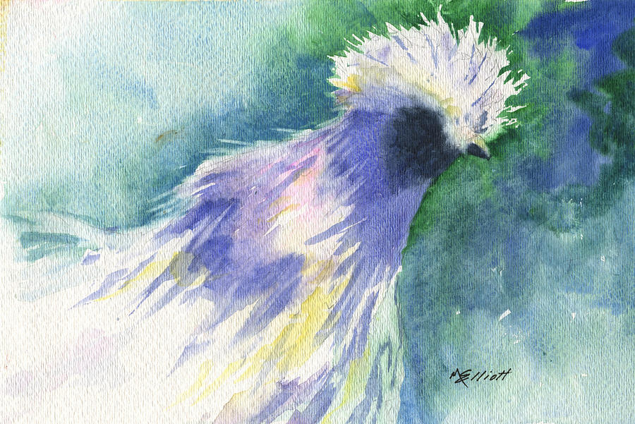 Hen Painting - Barnyard Beauty by Marsha Elliott
