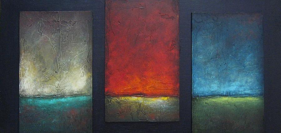 Landscape Painting - Baron by Ellen Lewis