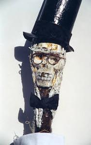 Baron Samedi Mixed Media - Baron Samedi Spirit Of The Grave by Miss Kitty