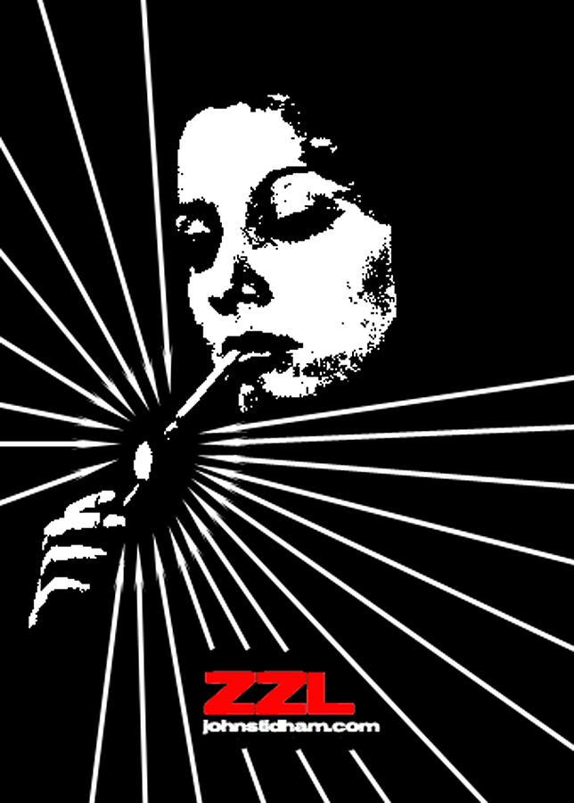 Smoker Digital Art - Baroness Of Night by John  Stidham