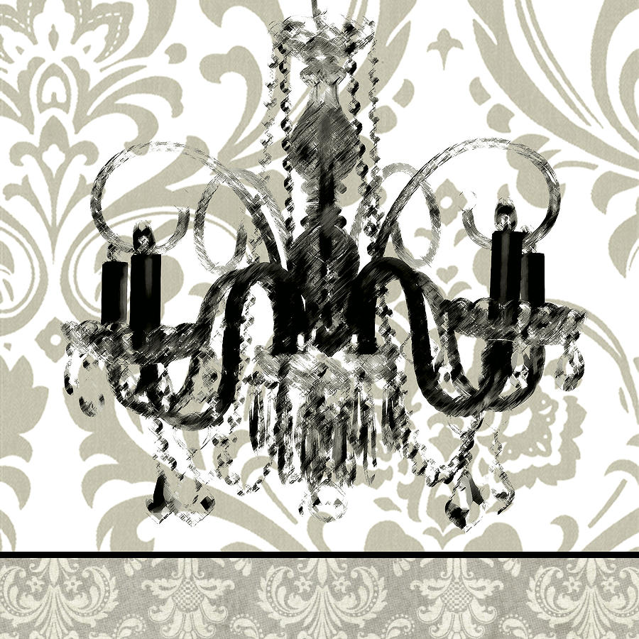 Baroque chandelier 1 painting by carol robinson aloadofball Image collections