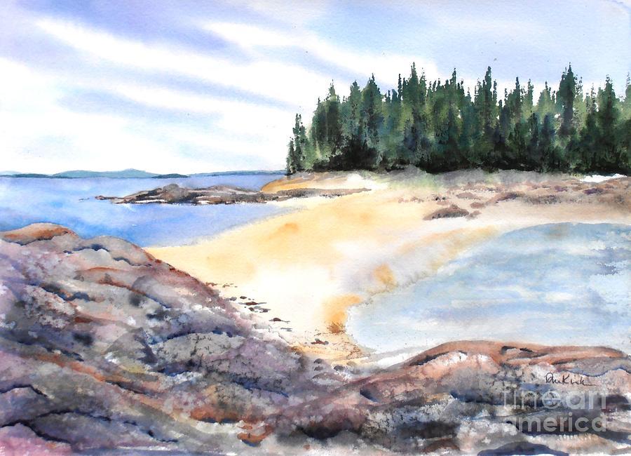 Barred Island Sandbar by Diane Kirk