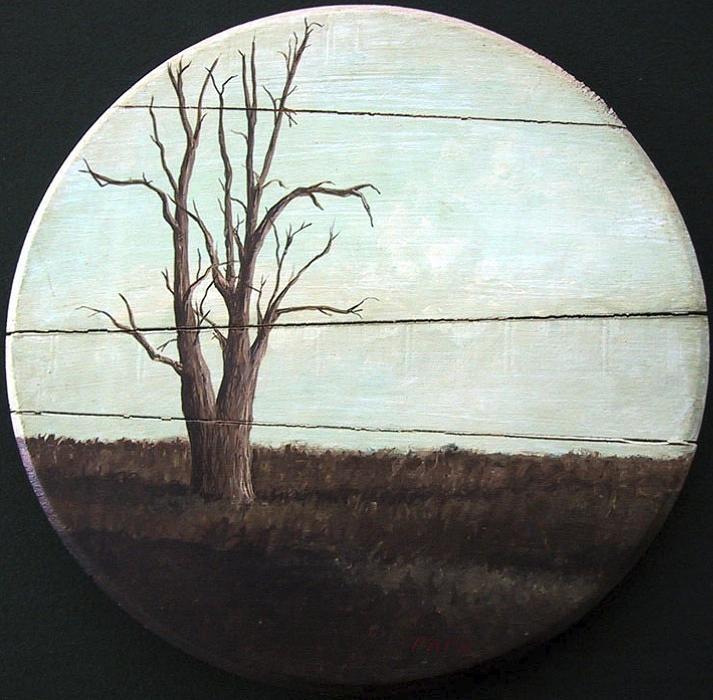 Baren Painting - Barren Plain by Ralph Papa