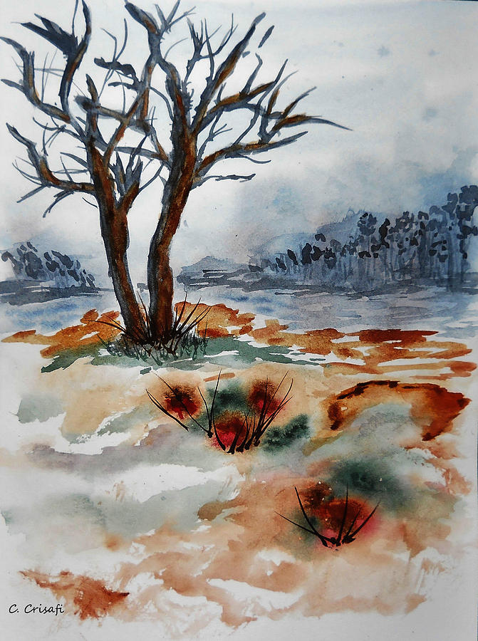 Barren Trees by Carol Crisafi
