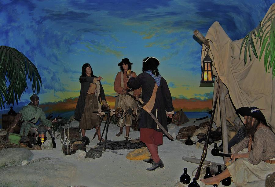 Pirates Photograph - Barring Buccaneers by DigiArt Diaries by Vicky B Fuller