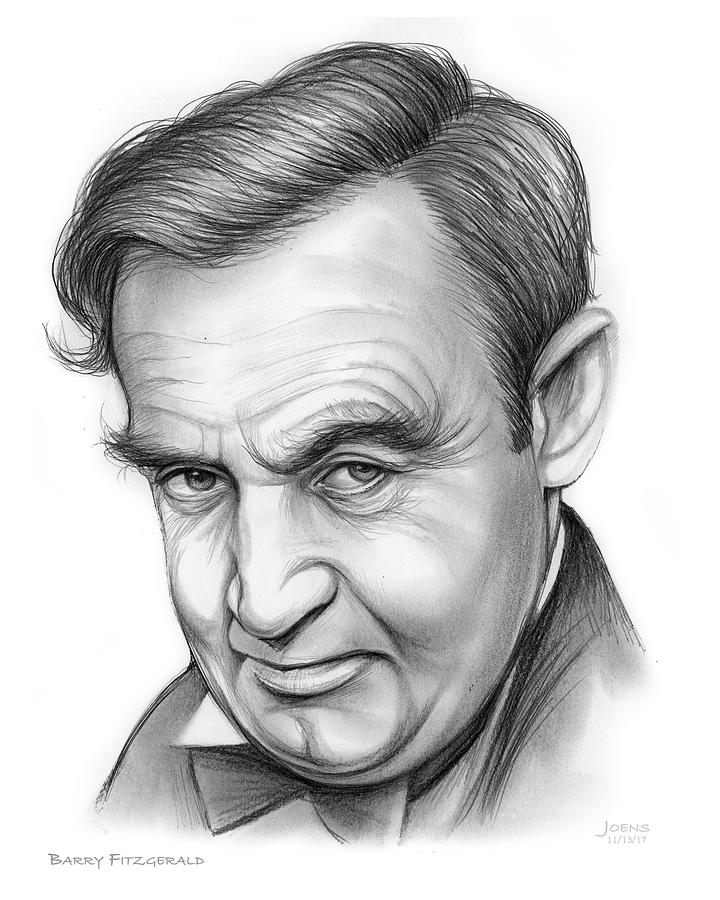 Barry Fitzgerald Drawing