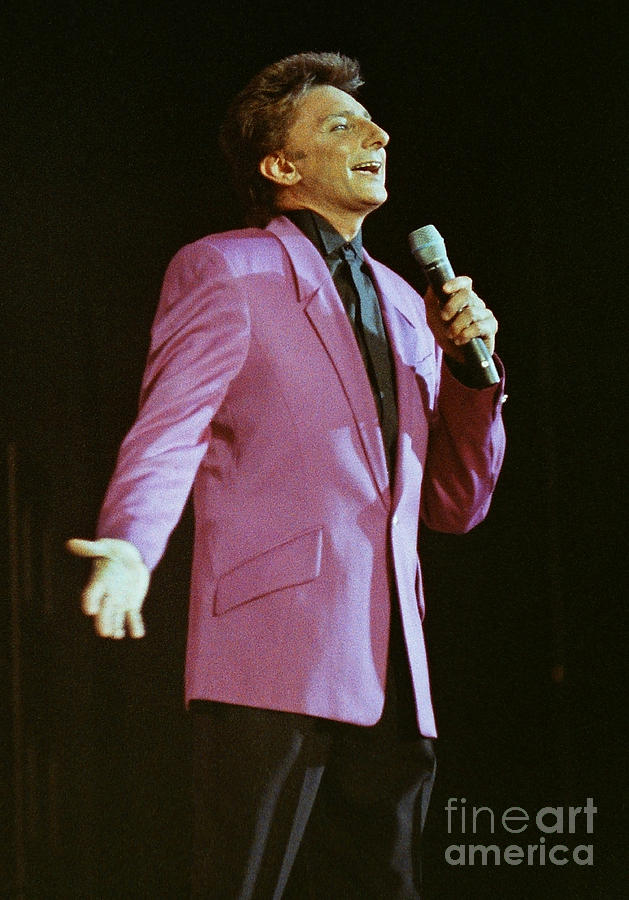 Barry Manilow Photograph - Barry Manilow-0774 by Gary Gingrich Galleries