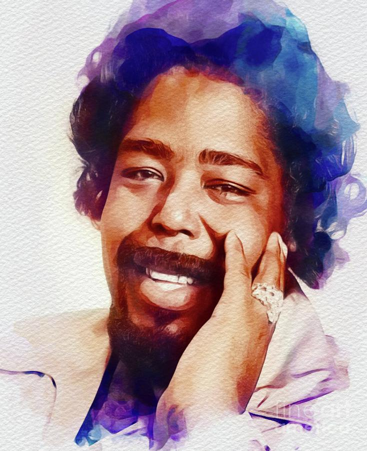 Barry White, Music Legend Painting