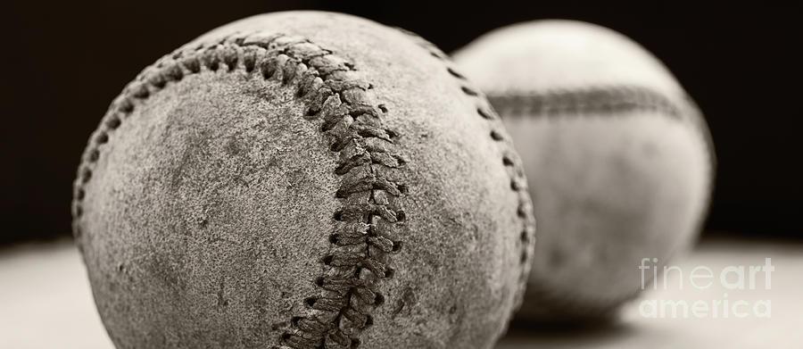 Coffee Photograph - Baseball Coffee Mug by Edward Fielding