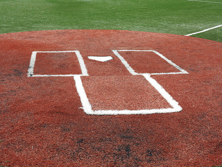 Excellent Baseball Home Plate By Frank Romeo Beutiful Home Inspiration Cosmmahrainfo